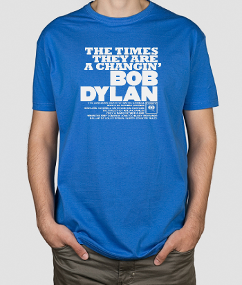 T-Shirt Bob Dylan The Times