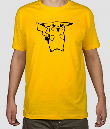 T-shirt retro pikachu