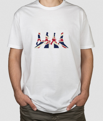Union Jack Beatles T-Shirt