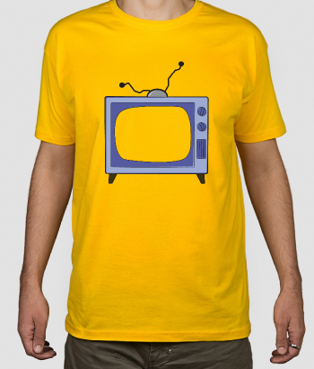 T-shirt serie tv Simpsons
