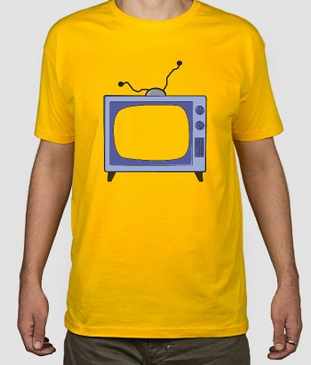 Camiseta Simpsons tele