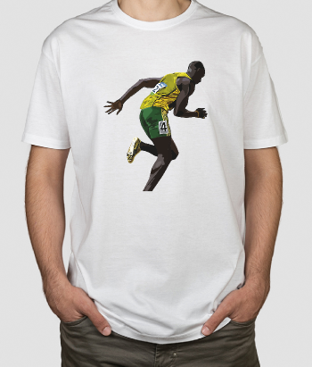 T-Shirt desporto Usain Bolt