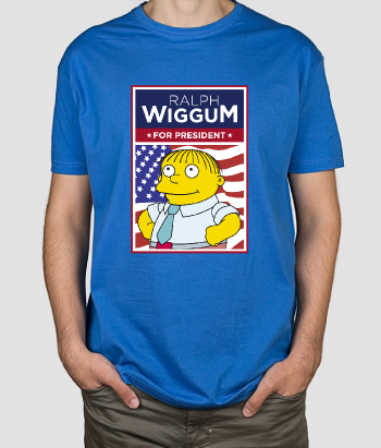 T-shirt Ralph Wigggum for President