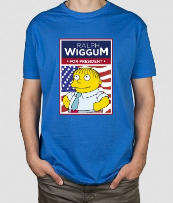 T shirt serie tv Ralph for President