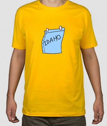 T-shirt The Simpsons Idaho