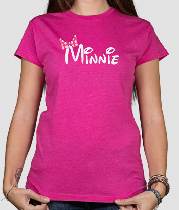 Camiseta Minnie lazo