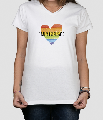 Camiseta original Happy pride day