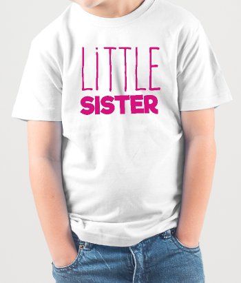 T-shirt little sister