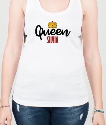 T-shirt Personalizável Queen