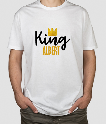 T-shirt king albert
