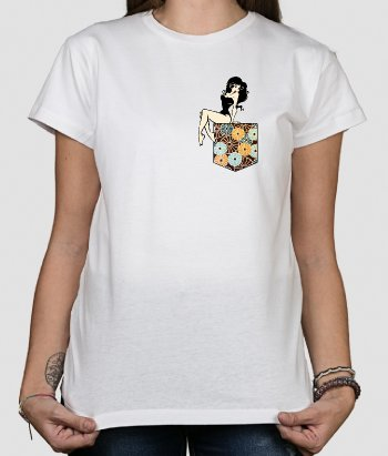 Pinup Pocket T-Shirt