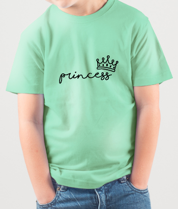 Camiseta princess corona