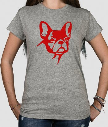 T-shirt divertida Bulldog francês