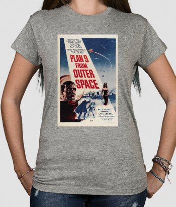 T-shirt film plan 9 from outer space