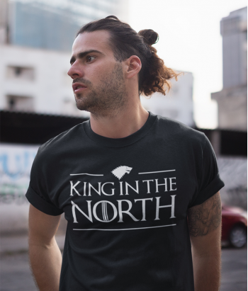 T-shirt Game Of Thrones King of the North