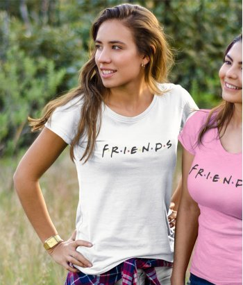 Camiseta Original Friends Logo