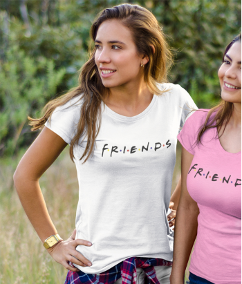 T-shirt TV logo Friends