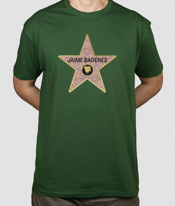 Camiseta personalizada estrella Hollywood