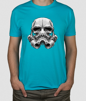 T-shirt Caveira stormtrooper Star Wars