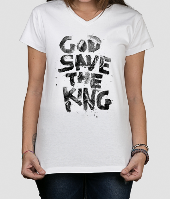 T-shirt God Save The King