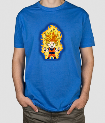 T-shirt Super Guerreiro Dragon Ball