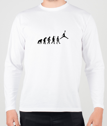 Camiseta Evolution theory Jordan.