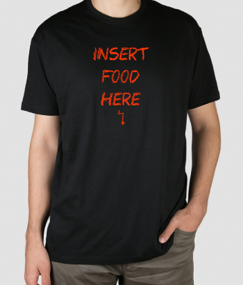 Camiseta Insert food