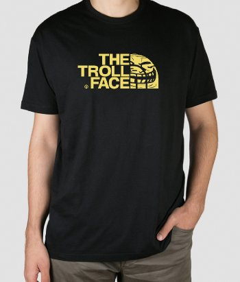Camiseta The Troll Face