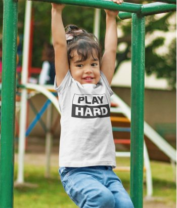 Camiseta Infantil Exclusiva Play hard