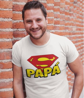 Camiseta Exclusiva para padres Superpapá