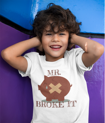 Infantil Mr. Broke It