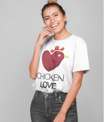 Camiseta Original Chicken Love
