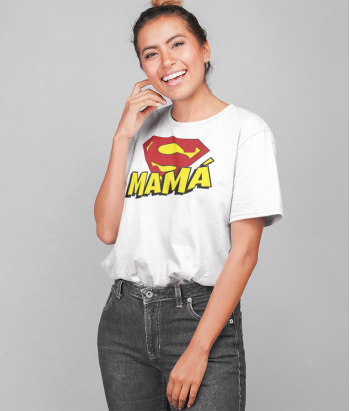 Camiseta SuperMamá original y exclusiva