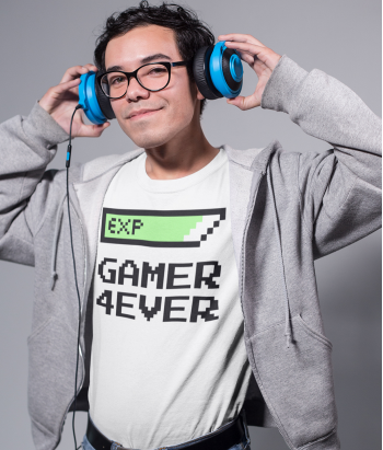 Camiseta Gamer for ever
