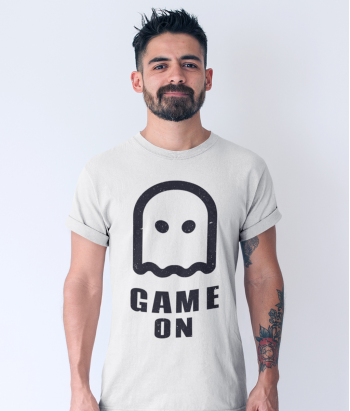 Camiseta pacman Game On