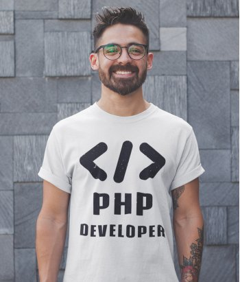 Camiseta php developer