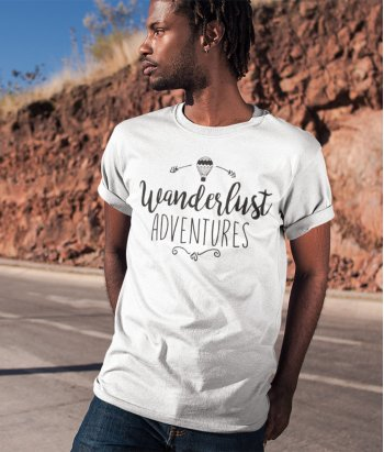 Camiseta wanderlust adventure