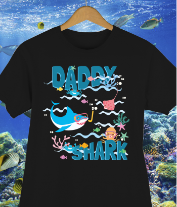 Camiseta Daddy Shark