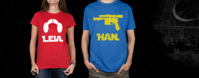 New duo t-shirts.