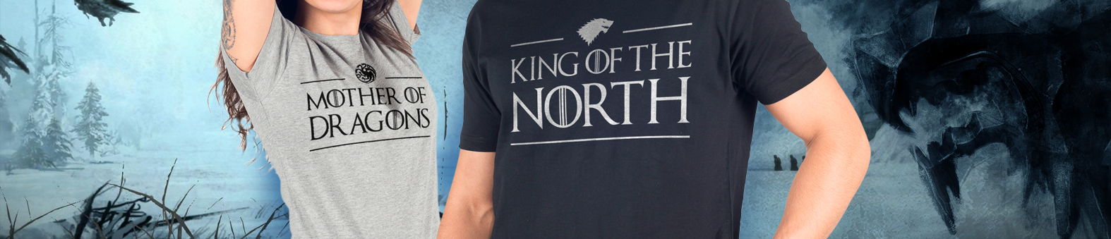 T-shirts Game of Thrones